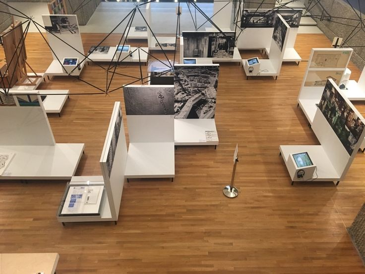 Oskar Hansen: Open Form. A view from an exhibition  at the Yale School of Architecture, photo: Ewa Bogusz-Moore.