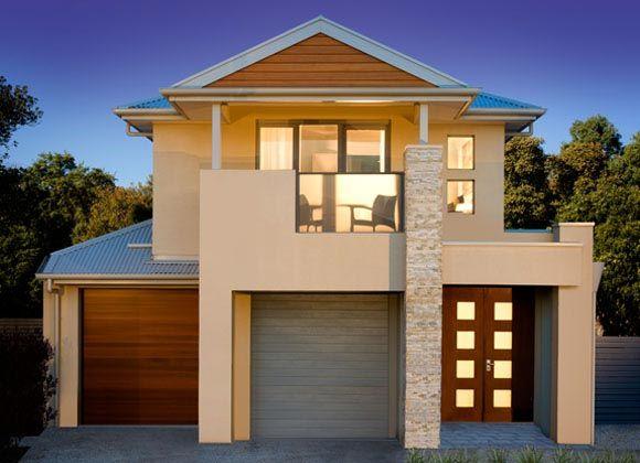 Seisuke Display Homes: Summit 235 - Contempo Facade. Visit www.localbuilders.com.au/display_homes_adelaide.htm for all display homes in Adelaide
