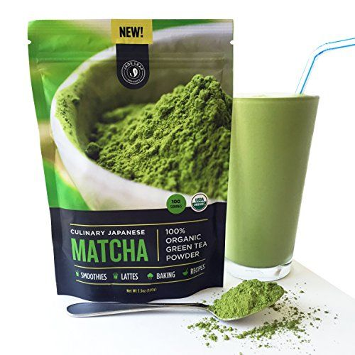"""New! Authentic Japanese Matcha Green Tea Powder By Jade Leaf Organics - 100% USDA Certified Organic"