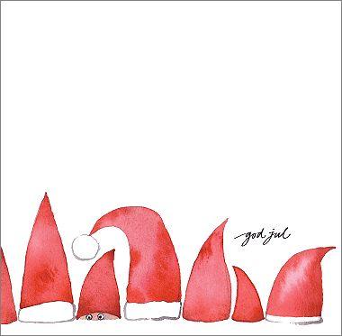 Jul | Folkelind Form. Cute Christmas card idea