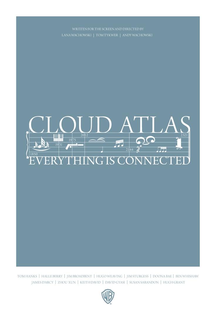 Fan-Made Cloud Atlas Poster Best film I've seen in a long time