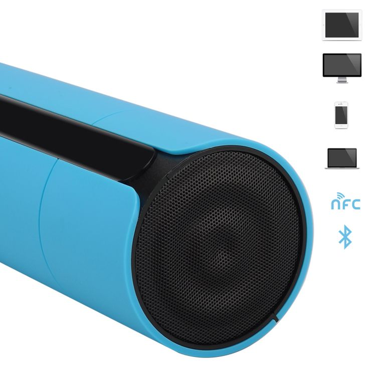 Wireless Bluetooth Speaker - Touch Control, Micro SD Card