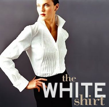17 Best images about The Classic White Shirt on Pinterest ...