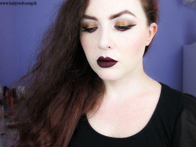 Babyredvamp Makeup: Down The Bat Cave (NYX, Inglot & Plum Lips)