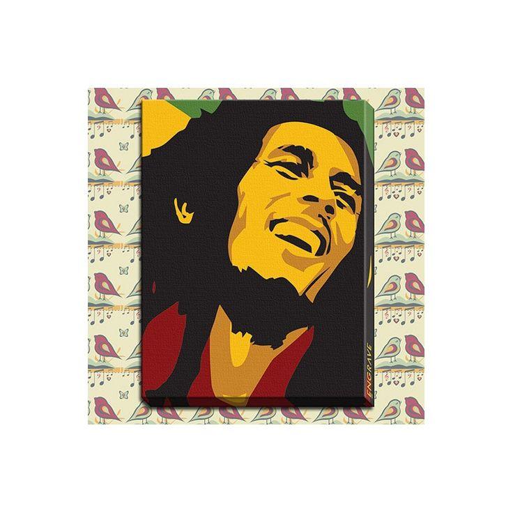 Bob Marley Canvas Print for Rs 1200 only at www.celebstall.com #Celebstall #handicraft #gift #wallhanging #wallart  http://goo.gl/pTD4Re