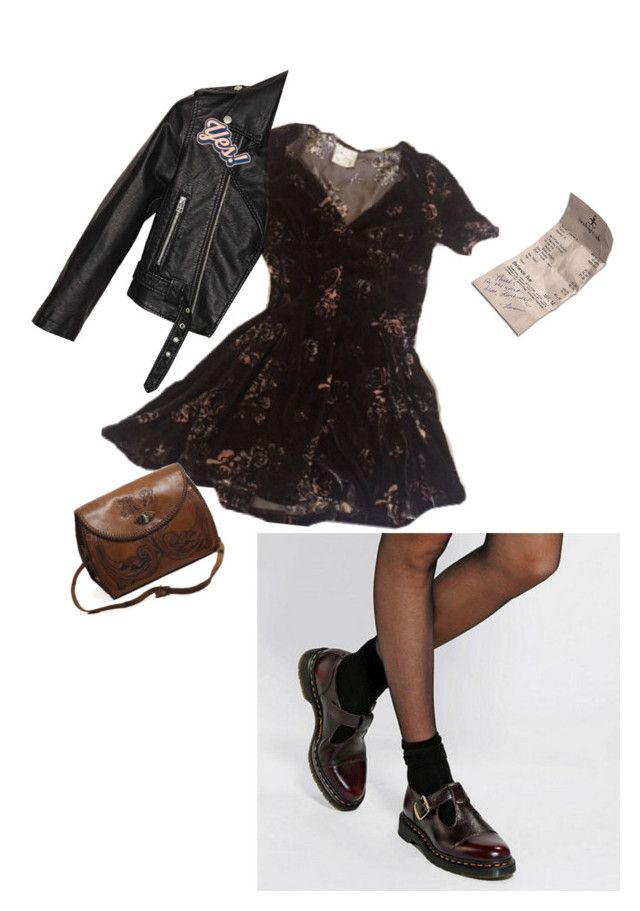 """""""."""" by spamotron ❤ liked on Polyvore featuring Nasty Gal, INDIE HAIR, Anya Hindmarch, women's clothing, women's fashion, women, female, woman, misses and juniors"""