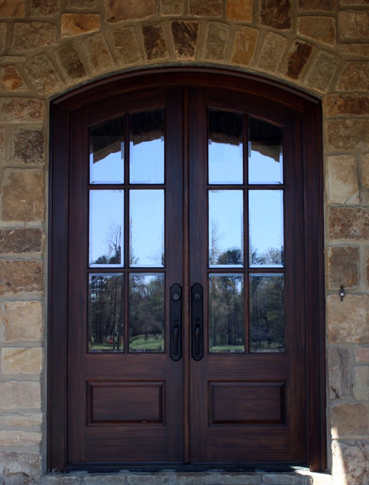 Entry door custom home exterior built pinterest for Exterior entrance doors for home