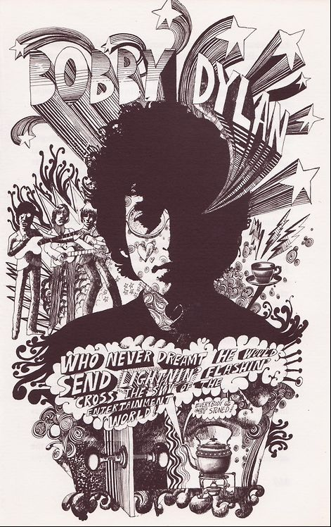 psychedelic poster artist, Martin Sharp