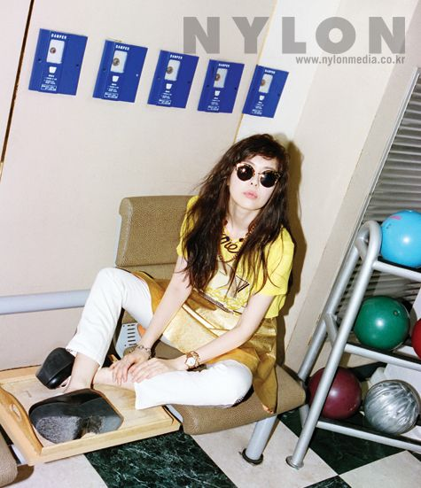 2014.06, Nylon, Lee Ha Na