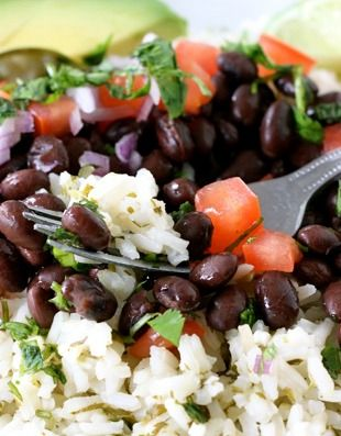 Mexican rice bowls, Rice bowls and Mexicans on Pinterest