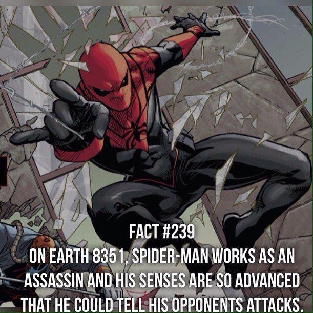 Marvel Fact 239: Spider-Assassin Senses from Earth 8351 by devilzsmile.com