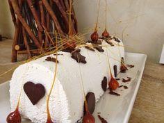 Entremet mousse vanillé et mousse chocolat au lait - En-K de gourmandises