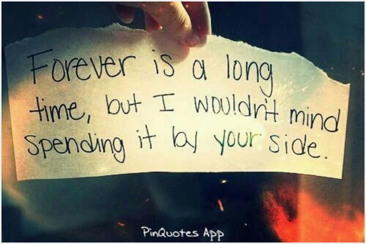 575 Forever Is A Long Time Quote