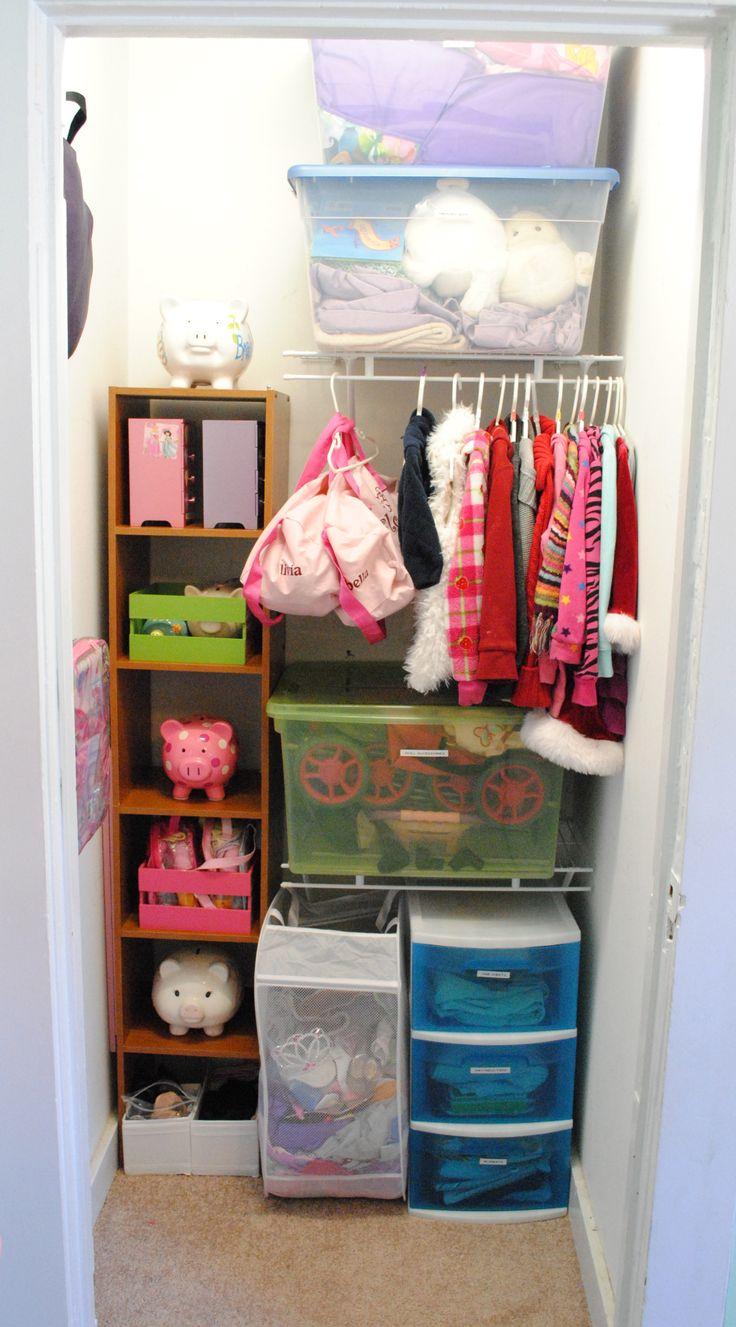 Little Girls Room Closet Closets Pinterest Room