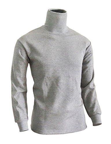 BCPOLO Men's Turtleneck Long Sleeves warm sweatshirt cotton mock neck style t-shirt.-gray XL BCPOLO http://www.amazon.com/dp/B00RAYQ1WU/ref=cm_sw_r_pi_dp_iny7ub1BN3JFY