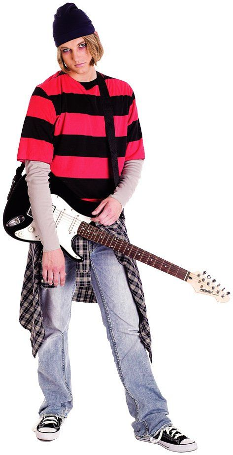 90s Grunge Guy Adult Costume from BuyCostumes.com