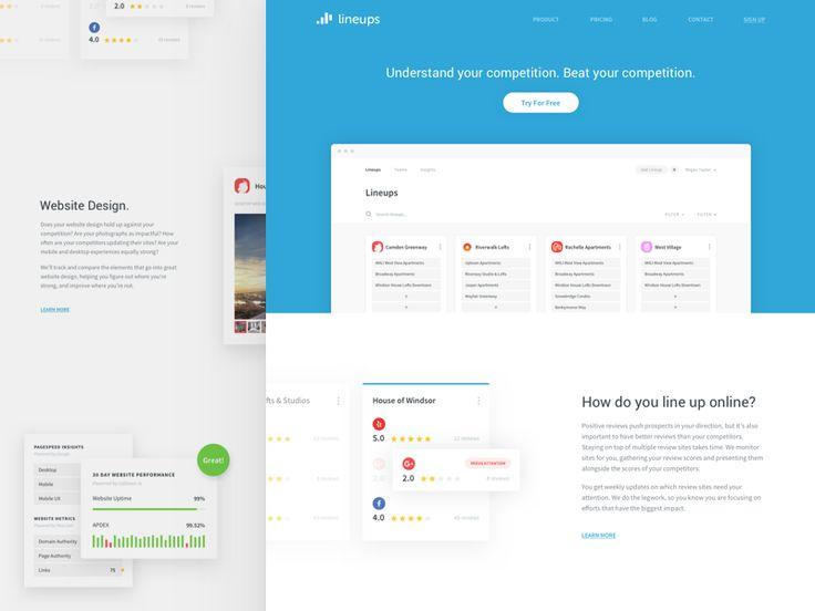 Lineups Homepage