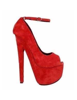 AIMEE Ankle Strap Peep Toe Platform Pumps @Gail Regan Truax://www.shopjessicabuurman.com
