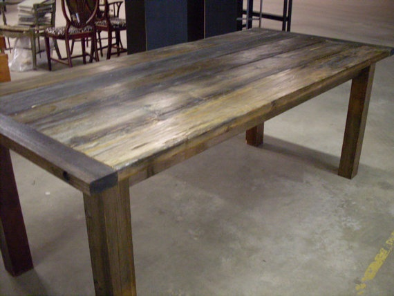67 best images about diy kitchen table on pinterest for Diy barn table