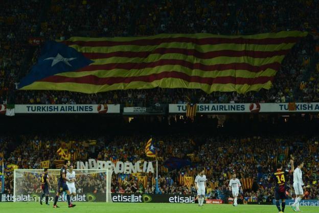 Le Barça s'est officiellement prononcé en faveur de l'indépendance de la Catalogne..