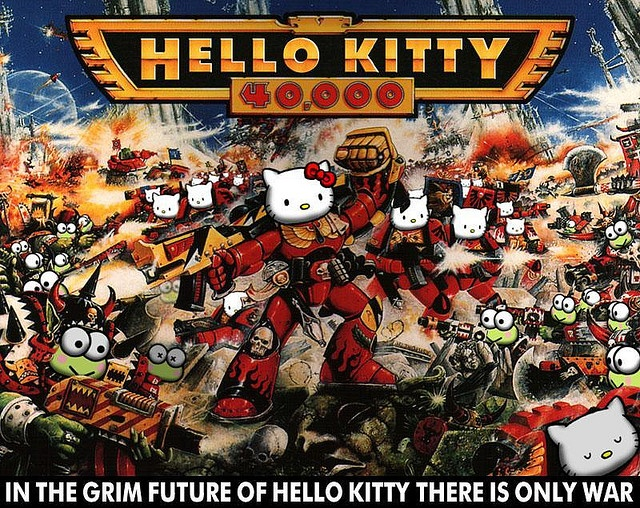 Hello Kitty 40K