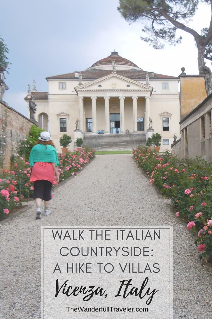 Walk to Villas in the Italian Countryside from Vic…