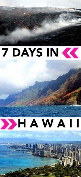 First timers to Hawaii - I have your perfect itinerary right here! :)   Hawaii Itinerary Oahu | Hawaii Itinerary Big Island | Hawaii Itinerary | 7 days in Hawaii