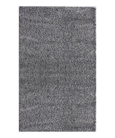 This Gray Shag Rug by nuLOOM is perfect! #zulilyfinds