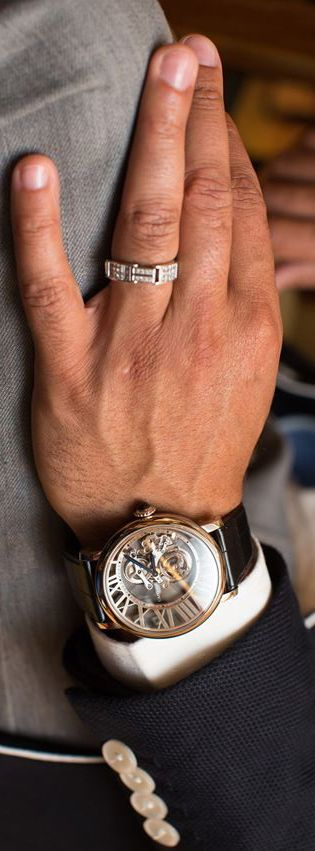 The anbenna • Watch Anish is nice but, check out the ring!