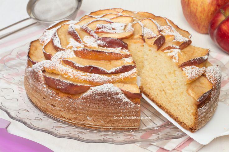 torta mele e ricotta1