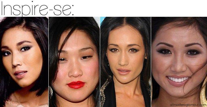 olhos asiaticos