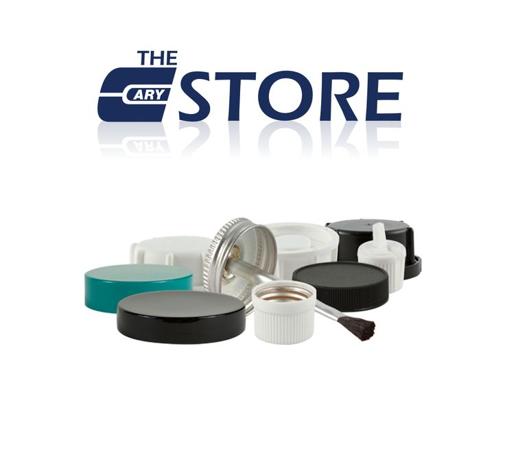 The Cary Store offers a wide selection of caps and closures that include continuous thread plastic caps, tamper evident ratchet caps, spice caps, sprayers, plastic dome caps, dispensing caps, and more. Visit us today to see our entire stock.