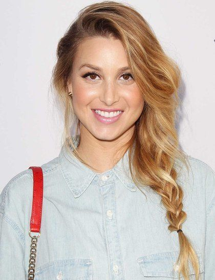 We love Whitney Port's effortlessly tousled side plait. What do you think?