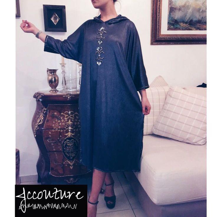 "461 Likes, 8 Comments - Jalila Choukaïli (@jc.couture) on Instagram: ""Jliliba    Aid moubarak said  #MoroccanStyle #Beldi #CoutureJc  #Couture  #Casual #fashion #maroc…"""