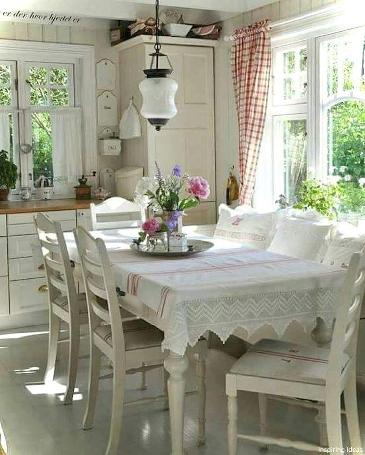 54 Kleine Küchenideen im französischen Landhausstil