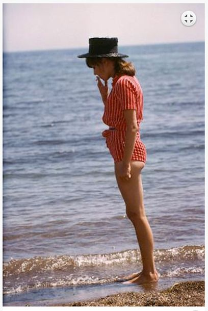 ">>> 2014 collection inspiration from M. Patmos | ""Stripe"", Photo Courtesy of ""Pierrot le Fou"" by Jean -Luc Godard"