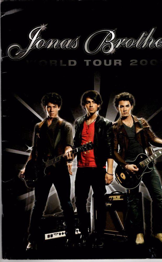 JONAS BROTHERS 2009 Tour Book