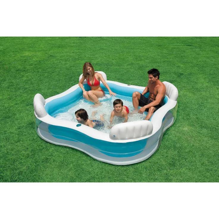 Trend Intex Inflatable Family Pool White Lazada Malaysia