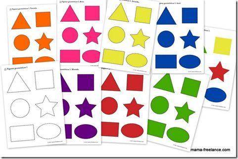 Para recortar, colorear, memorama, clasificación, etc!
