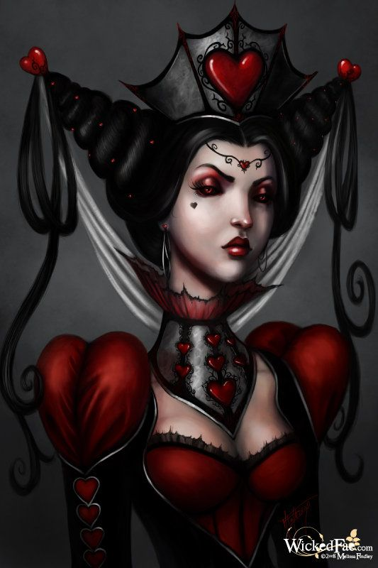 Queen of Hearts from Alice in Wonderland.