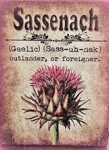 Saddenach; outlander, foreigner