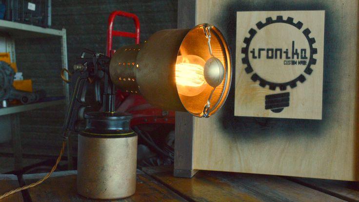 Burnster #stempunk lamp  #Lucruri #DePurtat #Afara