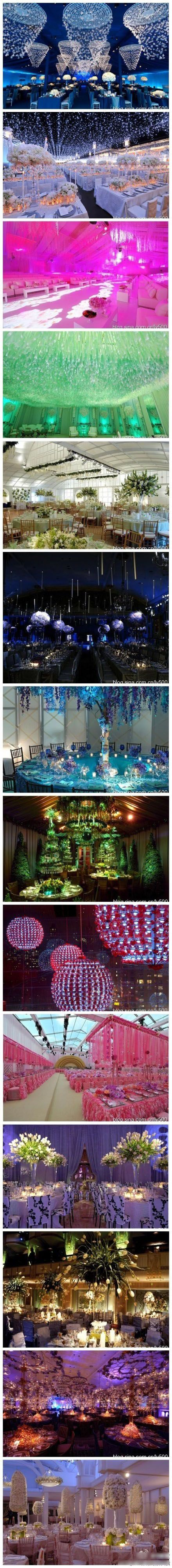 wedding hall decor, gorgeous!