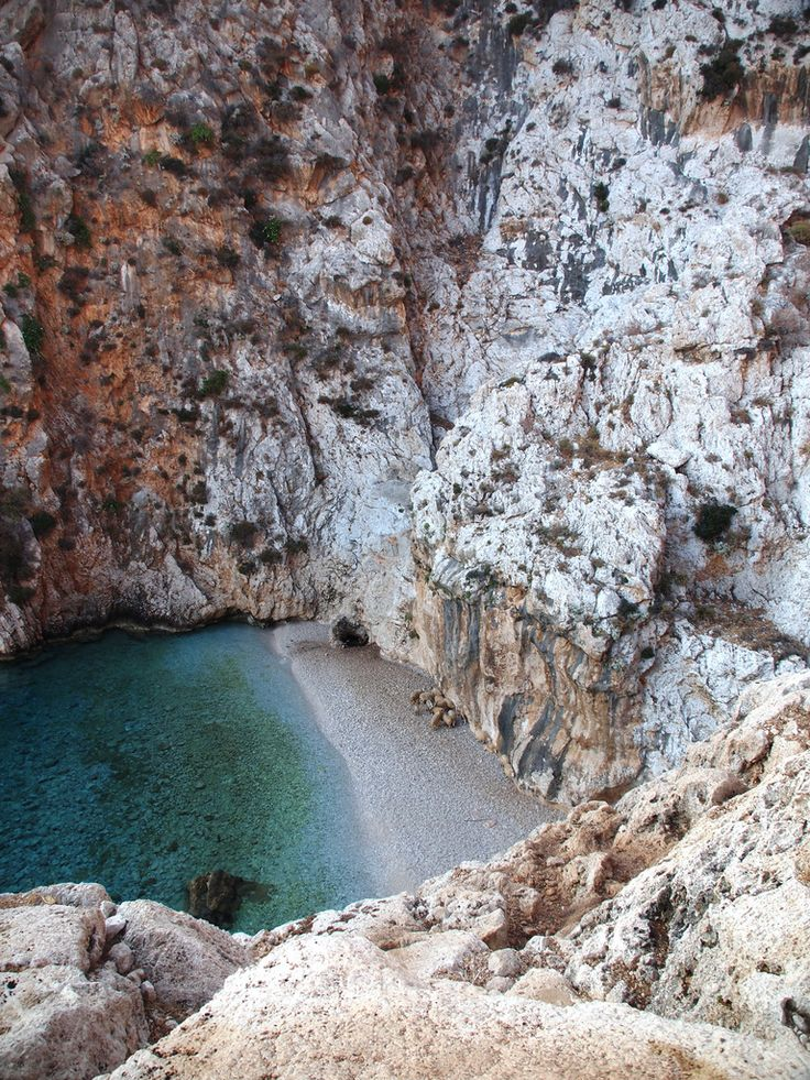 Areta Beach, Chalki | Greece (by Kjell Arne Berntsen)