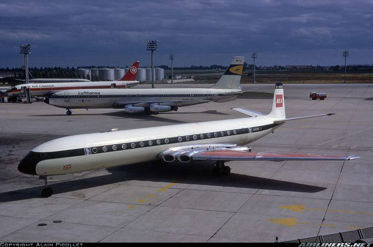 De Havilland DH-106 Comet 4B - BEA - British European Airways (Olympic) | Aviation Photo #1547408 | Airliners.net