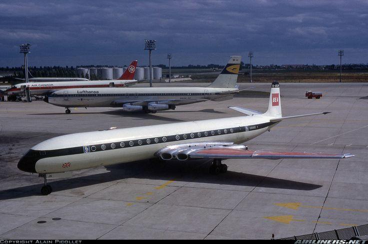 De Havilland DH-106 Comet 4B - BEA - British European Airways (Olympic)   Aviation Photo #1547408   Airliners.net