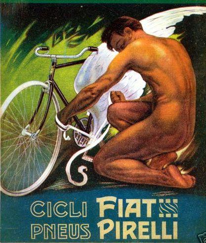 By Plinio Codognato, 1 9 1 2, Cicli Fiat, Pneus Pirelli.(I)