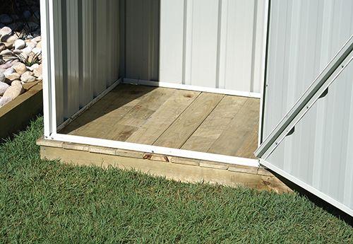 Garden Sheds, Aviaries, Carports, Garages | Absco Sheds » Timber Flooring Kits