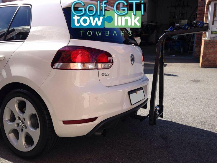 VW Golf Gti bike rack and towbar