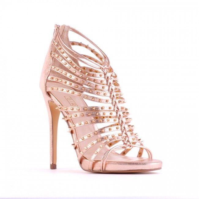 Dandy - Pink Gold Kid - Heels - All - Shop All